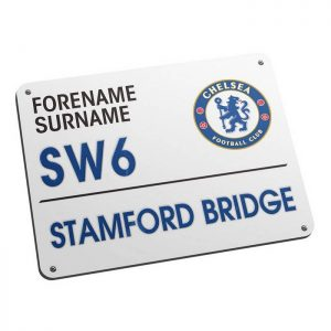 Personalised Chelsea FC Street Sign Mouse mat