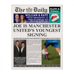 Personalised The Daily Football Newspaper
