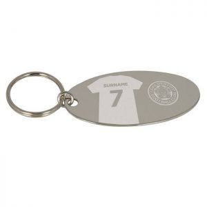 Personalised Leicester City FC Shirt Key Ring