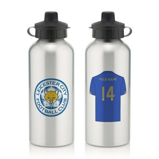 Personalised Leicester City Water Bottle
