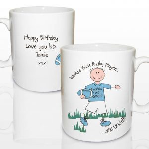 Personalised Worlds Best Rugby Player Mug