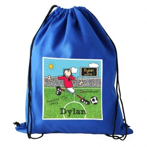 Personalised Bang On The Door Football Crazy Kit Bag