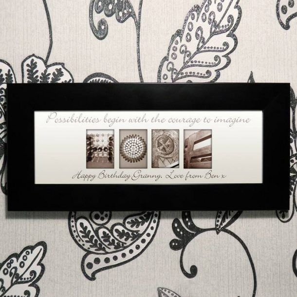 Personalised Art Affection Hope Frame