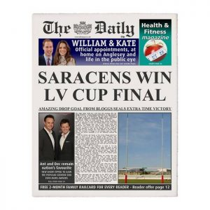 Personalised The Daily Rugby Union Newspaper