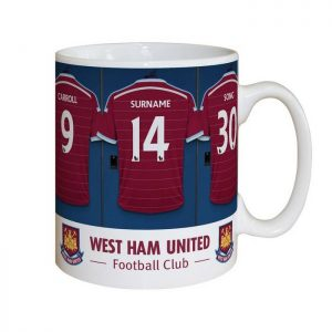 Personalised West Ham Dressing Room Mug