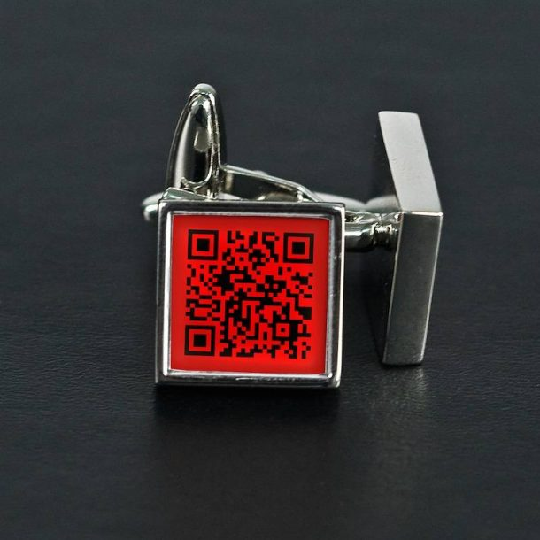 Personalised Secret Message Cufflinks